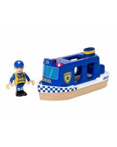 Polizeiboot Mit Licht Und Sound