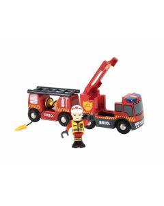 Feuerwehr-leiterfahrzeug Mit Licht & Sound