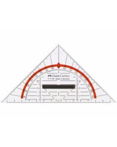 Geometrie-Dreieck klein mit Griff 14cm - CASTELL 177199