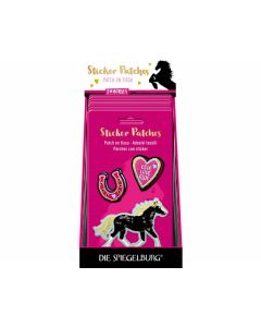 Sticker Patches I LOVE HORSES - SPIEGEL 15221