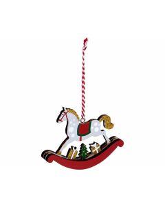 Schaukelpferd-Anhänger (Weihnachten), 1 Stück - SPIEGEL 16773