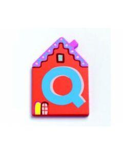 Buchstabe Haus Q - DJECO 4886