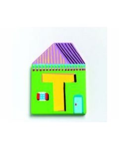 Buchstabe Haus T - DJECO 4889