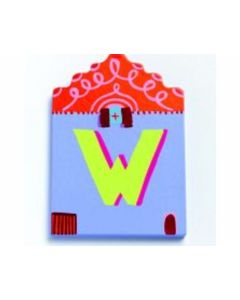 Buchstabe Haus W - DJECO 4892