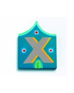 Buchstabe Haus X - DJECO 4893