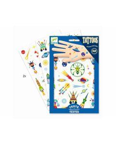 Tattoos Weltraum - DJECO DD 09590