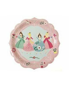 Pappteller groß Prinzessin (12 Stück) - MERI MM45-0799