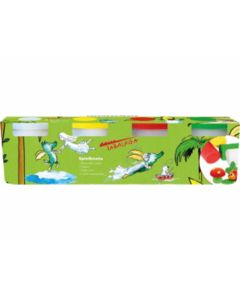 Spielknete Tabaluga 4er Set