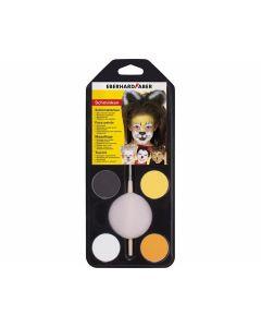 Schminkfarbe Tiere 4er Set - EBERHARD 579001