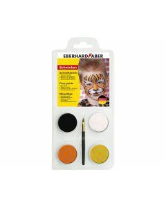 Schminkset Tiger 4er Set - EBERHARD 579013
