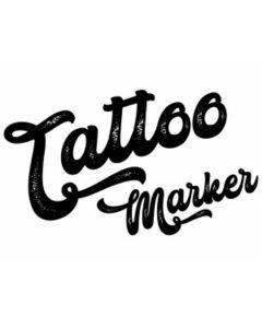 Tattoo Marker Set Kids, inklusive Schablonen, 4er Etui - EBERHARD 559504