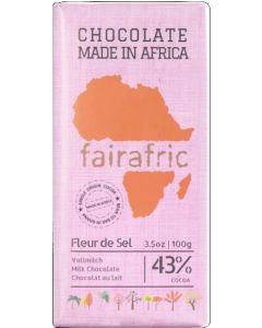FAIRAFRIC  Schokolade Vollmilch Fleur de Sel