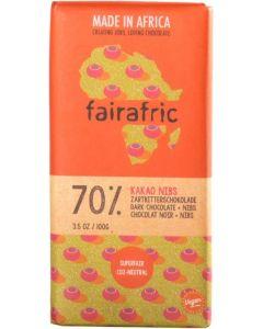 FAIRAFRIC  Schokolade ZartbitterCocoa Nibs
