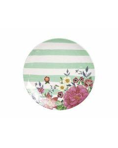Melamin Teller Rose Garden - GINGER 30386