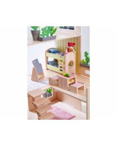 Little Friends: Puppenhaus-Möbel Kinderzimmer für Geschwister - HABA 303836