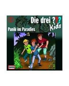 Die drei ??? Kids 01: Panik im Paradies (CD)- KOSMOS 03210