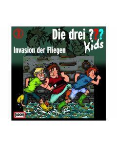 Die drei ??? Kids 03: Invasion Fliegen (CD) - KOSMOS 03212