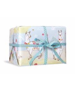 Geschenkpapier Alpaka