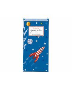 Geschenktüten Raumfahrt