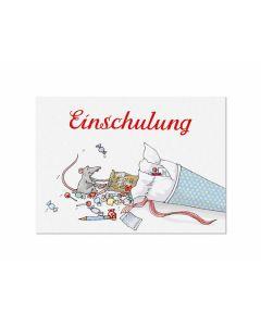Postkarte Schultüte - KRIMA 11571