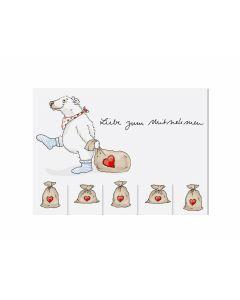 Postkarte Liebe zum Mitnehmen - KRIMA 13471