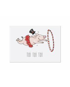 Postkarte Toitoitoi