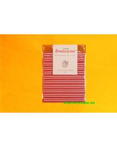 Schleifenband, 10 Mm, Rot/weiß