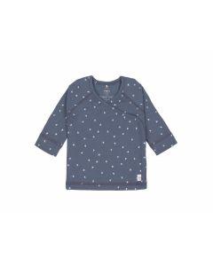 Wickelhemd Kimono Dreiecke blau (3 - 6 Monate) - LÄSSIG 1531011498-68