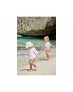 Sonnenhut Sun Protection Flap Hat weiß, 0-6 Monate - LÄSSIG 1433006100-06