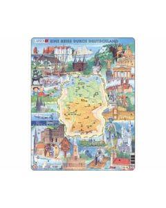 Puzzle  Eine Reise durch Deutschland (Larsen)