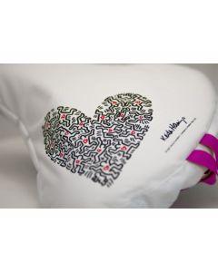 Sattelbezug Keith Haring Heart - LIIX-24811