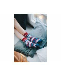 Socken Warm Rudolph, Gr. 43-46 - MANY 26176
