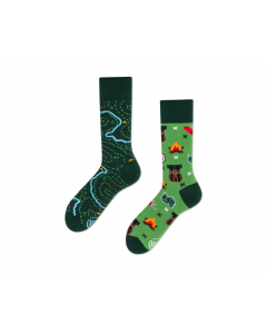 Socken The Map, Gr. 42-46 - MANY 26116