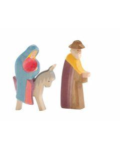 Maria auf dem Esel 2-tlg. - OST 04038
