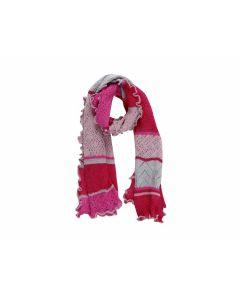 Wollschal Jolie pink-rot - OVERBECK 211323