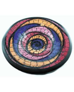 Tonschale mit Mosaik