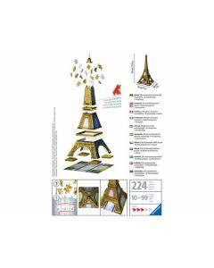 Puzzle 3D 216 Teile: Eiffelturm - RAVEN 12556