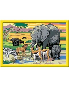 Tiere in Afrika - RAVEN 28766