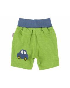 Shorts Baby Junge grün, Auto Gr. 68 - SIGI-171005-68