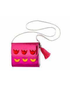 Tasche Robine m. Blüten, pink - SOUZA 105620