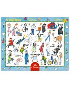 Rahmenpuzzle: So viele Berufe (24 Teile) - SPIEGEL 11997