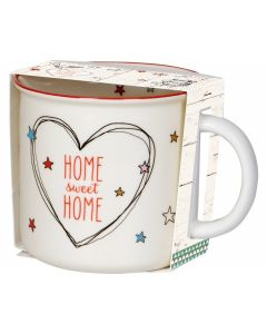 Porzellan-Tasse Home sweet home Coming home for Christmas - SPIEGEL 15966