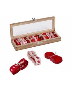 Geschenkbänder In Holzschachtel Weihnachtswunder