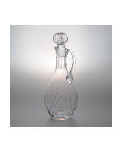 Weinkaraffe aus Bleikristallglas